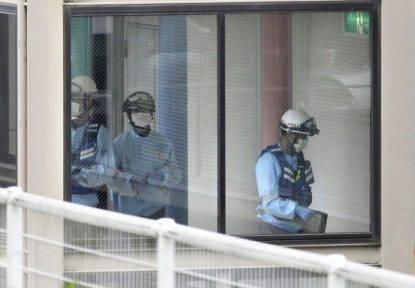 Strage a Tokyo, le riprese aeree delle squadre di emergenza sulla scena