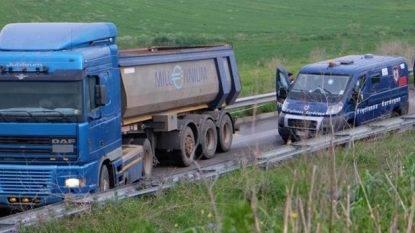 Cagliari: portavalori preso d'assalto sulla statale 130, panico per gli automobilisti!
