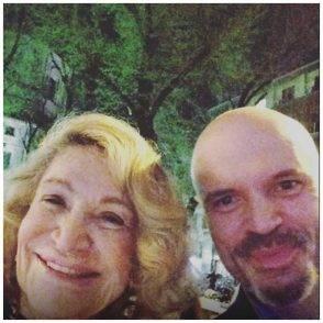 Oltolini con Marta Marzotto