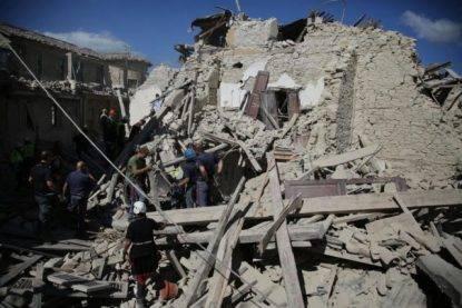 Terremoto di magnitudo 3.8 ad Amatrice