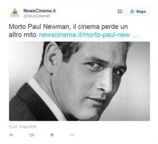 Paul Newman, la bufala