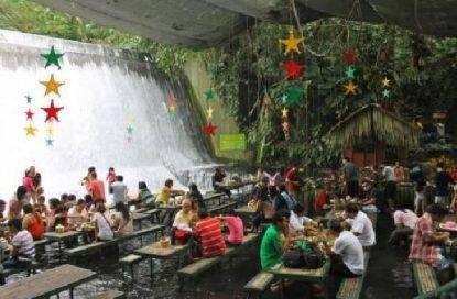 ristorante sulla cascata
