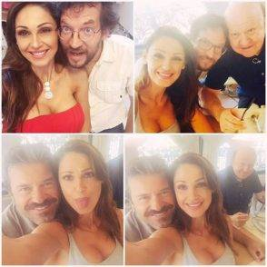 Tatangelo selfie Boldi