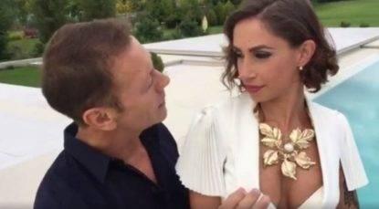 Malena la Pugliese con Rocco Siffredi
