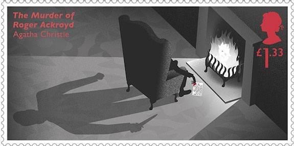 I francobolli della Royal Mail dedicati ad Agatha Christie