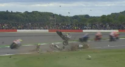 Incidente Partenza MotoGp Silverstone 2016