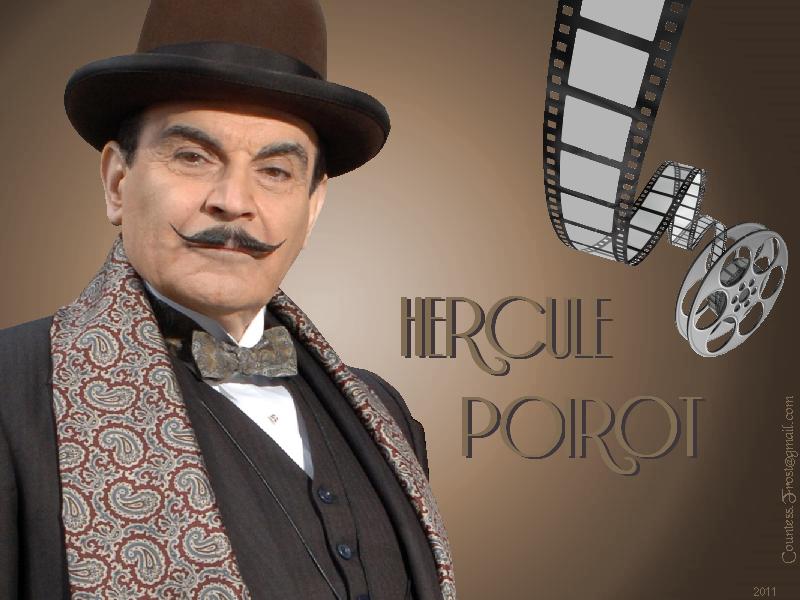 David Suchet è Hercule Poirot, il detective belga nato dalla penna di Agatha Christie
