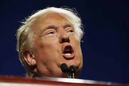 In this Friday, Feb. 26, 2016 photo, Republican presidential candidate Donald Trump speaks to supporters during a rally in Fort Worth, Texas. To his supporters, the business career of Trump shows hes got the decisiveness and smarts to lead the country. To critics, his exaggerated claims, burned customers and four bankruptcies suggest a man wholly disqualified for the office. (ANSA/AP Photo/LM Otero)