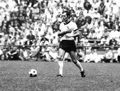 Franz Beckenbauer in Italia-Germania 4-3