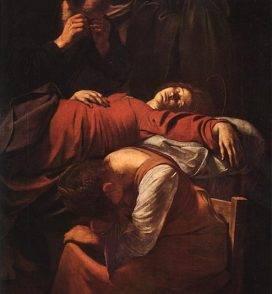 Morte della Vergine, dettaglio