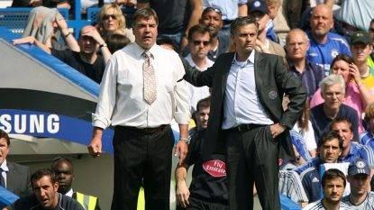 Allardyce con Mourinho