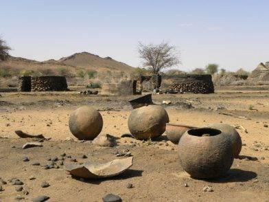 Burnt village of Tukumare