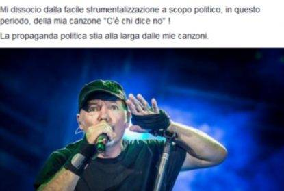 Vasco contro Salvini: