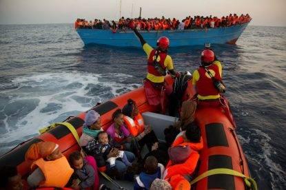 Salvati 6297 migranti, maxi sbarchi a Catania e a Palermo