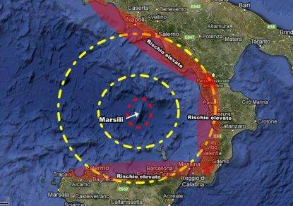Scossa di terremoto nei presse del Marsili, paura nel Sud Italia
