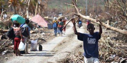 haiti uragano matthew distruzione