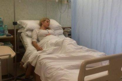 Paola Caruso in ospedale