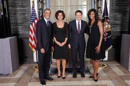 President Barack Obama and Italian Premier Matteo Renzi