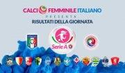 Serie A femminile - i risultati