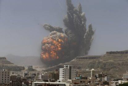 Yemen: raid coalizione su funerale, 155 morti e 500 feriti