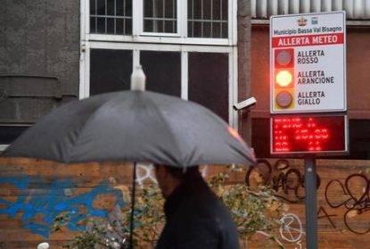 Maltempo: Allerta meteo Arancione in Liguria