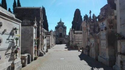 Un'immagine del cimitero monumentale di Castellana Grotte (Bari)