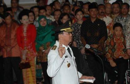 (WORLD SECTION) INDONESIA-JAKARTA-INAUGURATION OF JAKARTA GOVERNOR