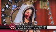 Guadalajara Madonna piange