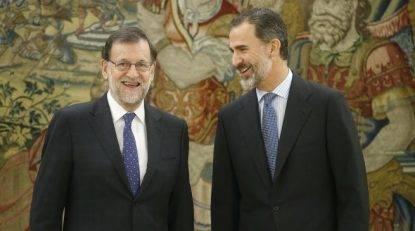 Prime Minister Mariano Rajoy at Zarzuela Palace