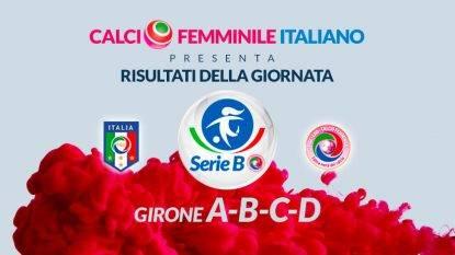Serie B femminile - i risultati
