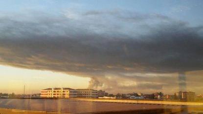 Eni, incendio nell'impianto Est della Raffineria di Sannazzaro de' Burgondi (Pavia)
