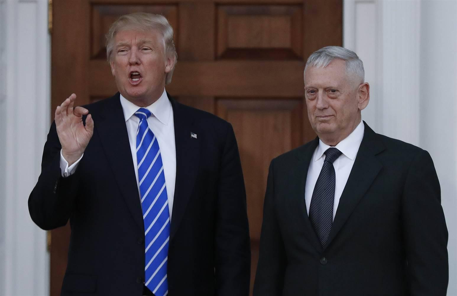 Risultati immagini per Trump Mattis e Flynn immagini