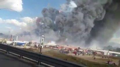 Messico: esplode mercato di fuochi d'artificio, almeno 31 morti