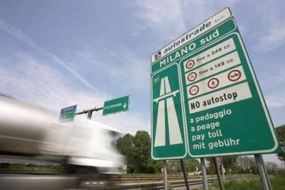 Pedaggi autostradali: i nuovi aumenti 2017