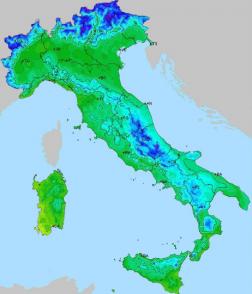 italia temperature epifania 2017