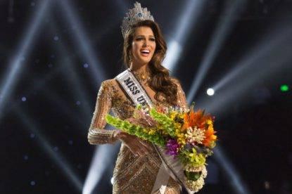 Una modella di Lilla incoronata Miss Universo