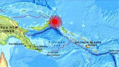 Forte scossa di terremoto in Papua Nuova Guinea: possibile rischio tsunami?