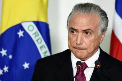 Brasile, Temer abbandona il palazzo presidenziale: