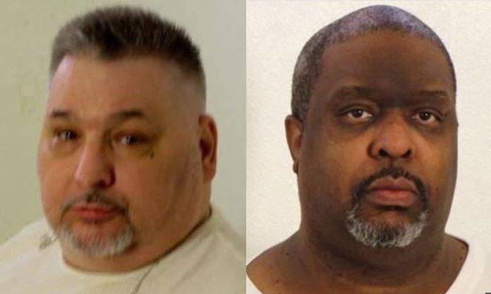 doppia condanna a morte in Arkansas