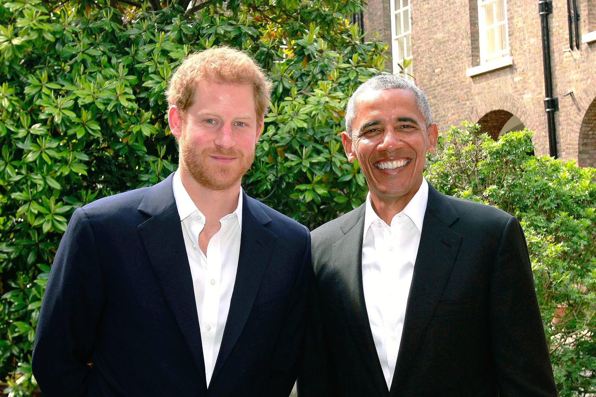 Obama e principe Harry