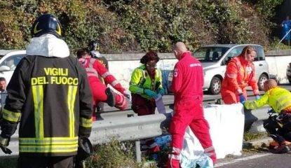 Auto contro scooter ad Ancona, morto un finanziere di Paglieta