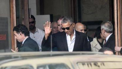 Obama a Milano, attesa per l'arrivo dell'ex presidente Usa