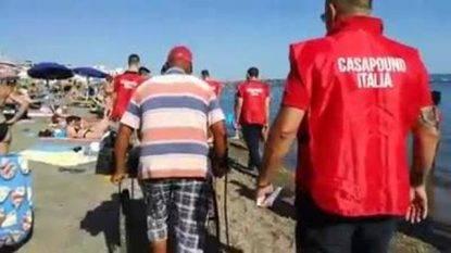 Blitz CasaPound su spiagge Ostia, indaga la Questura