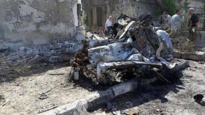 Attentato a Damasco, 3 Autobomba in città: 8 morti e 12 feriti