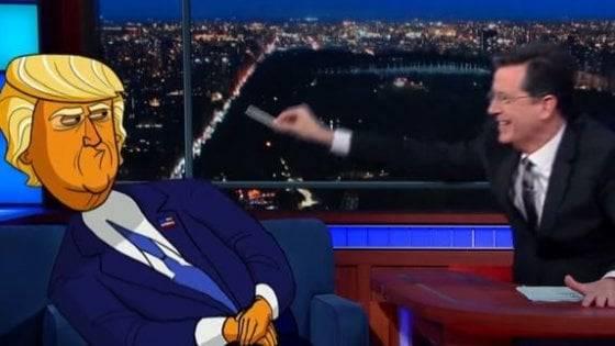 Usa in arrivo il cartone animato su donald trump