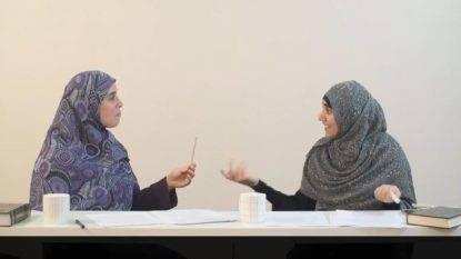 Donne Musulmane Cercano Marito