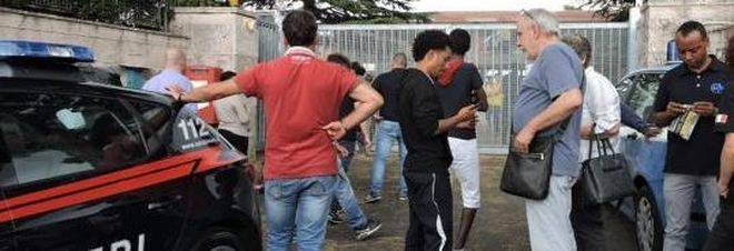Roma bomba carta contro struttura che ospita migranti for Struttura politica italiana
