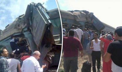 Scontro tra treni in Egitto: almeno 20 morti e 50 feriti
