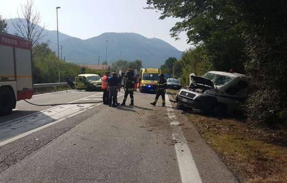 incidente stradale in molise