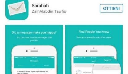 Sarahah, l'app per ricevere e mandare messaggi anonimi
